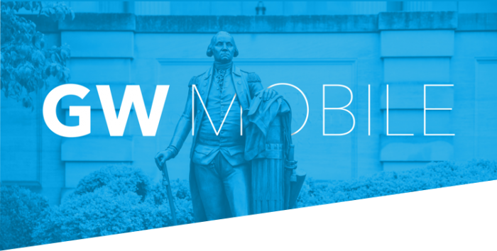 GW Mobile; George Washington statue
